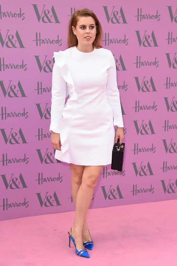 Princess Beatrice<br /> arriving for the V&A Summer Party 2018, London<br /> <br /> ©Ash Knotek  D3410  20/06/2018