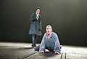 Frankenstein by Nick Dear based on the novel by Mary Shelly directed by Danny Boyle. With  Benedict Cumberbatch  as The Creature, Johnny Lee Miller as Victor Frankenstein . Opens at The Olivier Theatre at The Royal National Theatre  on  on 22/2/11 . CREDIT Geraint Lewis
