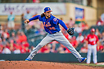 28 February 2019: New York Mets pitcher Josh Torres on the mound during a Spring Training game against the St. Louis Cardinals at Roger Dean Stadium in Jupiter, Florida. The Mets defeated the Cardinals 3-2 in Grapefruit League play. Mandatory Credit: Ed Wolfstein Photo *** RAW (NEF) Image File Available ***
