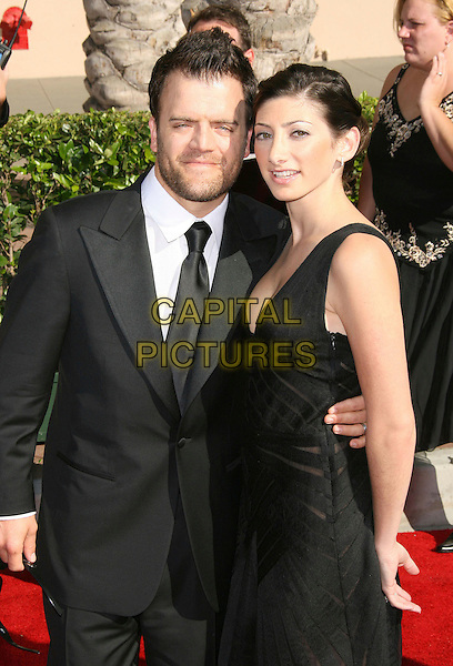 KEVIN WEISMAN & JODI TANOWITZ.58th Annual Creative Arts Emmy Awards held at the Shrine Auditorium, Los Angeles, California, USA.AUGUST 19TH, 2006.Ref: ADM/ZL.half length black dress suit jacket.www.capitalpictures.com.sales@capitalpictures.com.©Zach Lipp/AdMedia/Capital Pictures.