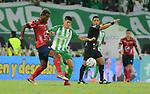 Atlético Nacional venció 2-0 a Independiente Medellín. Fecha 13 Liga Águila I-2018.