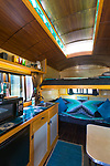 The Amazing Mysterium Tiny House Interior at Caravan, the Tiny House Hotel, Portland, OR, USA