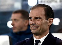 Football Soccer: UEFA Champions League Juventus vs FC Barcelona Allianz Stadium. Turin, Italy, November 22, 2017. <br /> Juventus' coach Massimiliano Allegri waits for the start of the Uefa Champions League football soccer match between Juventus and FC Barcelona at Allianz Stadium in Turin, November 22, 2017.<br /> UPDATE IMAGES PRESS/Isabella Bonotto