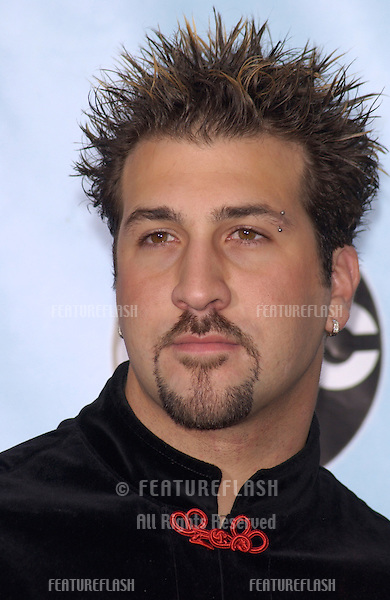 *NSync star JOEY FATONE at the 2001 Radio Music Awards at the Aladdin Hotel & Casino, Las Vegas..26OCT2001. © Paul Smith/Featureflash