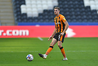 Hull City's Reece Burke<br /> <br /> Photographer Dave Howarth/CameraSport<br /> <br /> The EFL Sky Bet League One - Hull City v Crewe Alexandra - Saturday 19th September 2020 - KCOM Stadium - Kingston upon Hull<br /> <br /> World Copyright © 2020 CameraSport. All rights reserved. 43 Linden Ave. Countesthorpe. Leicester. England. LE8 5PG - Tel: +44 (0) 116 277 4147 - admin@camerasport.com - www.camerasport.com