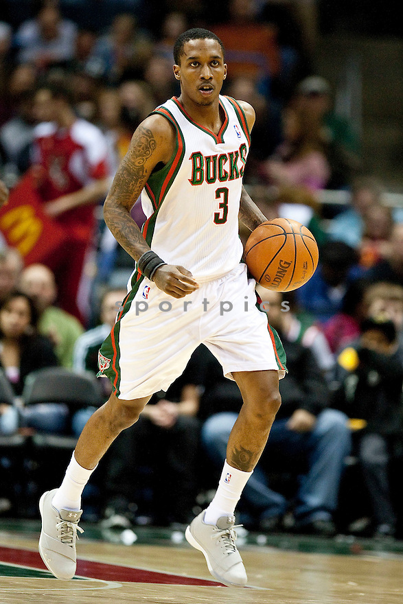 BRANDON JENNINGS, of the Milwaukee Bucks.