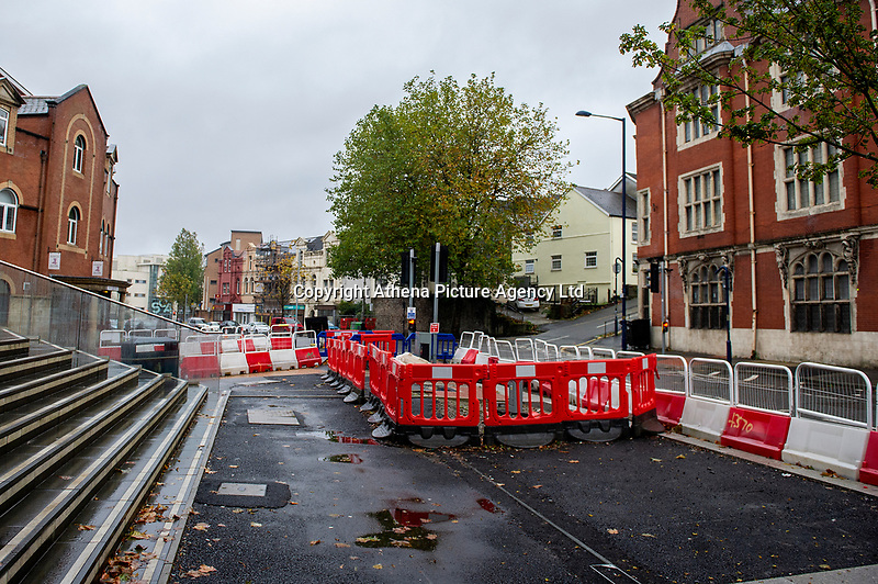 Pictured: A general view of Alexandra Road in Swansea, Wales, UK. Thursday 31 October 2019