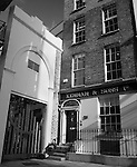 The gate of Mr Neale's Music Hall, Fishamble St. Dublin, where the first performance of George Frideric Handel's Messiah took place in 1742. .