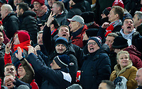 Liverpool fans antagonise Manchester United fans after their side went 2-0 up<br /> <br /> Photographer Alex Dodd/CameraSport<br /> <br /> The Premier League - Liverpool v Manchester United - Sunday 19th January 2020 - Anfield - Liverpool<br /> <br /> World Copyright © 2020 CameraSport. All rights reserved. 43 Linden Ave. Countesthorpe. Leicester. England. LE8 5PG - Tel: +44 (0) 116 277 4147 - admin@camerasport.com - www.camerasport.com