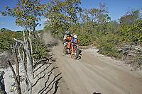 Prova do Rally dos Sertões. São Raimundo Nonato. Piaui. 2007. Foto de Caetano Barreira.