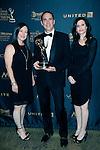 LOS ANGELES - APR 29: Jennifer Savala, David Hoffman, Jennifer Herwitt at The 43rd Daytime Creative Arts Emmy Awards Gala at the Westin Bonaventure Hotel on April 29, 2016 in Los Angeles, California