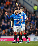 01.02.2020 Rangers v Aberdeen: Andrew Dallas books Connor Goldson