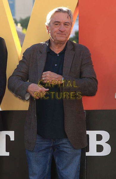 Robert De Niro<br /> &quot;Last Vegas&quot; cast received the key to Vegas at the Bellagio Fountain, Las Vegas, NV, USA, 18th October 2013.<br /> half length brown jacket <br /> CAP/ADM/MJT<br /> &copy; MJT/AdMedia/Capital Pictures