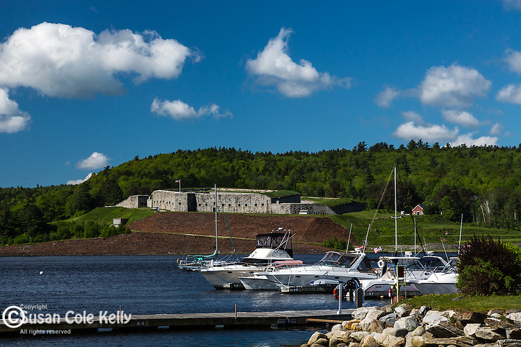 Fort Knox on the Penobscot River, Bucksport, Mid-coast, ME