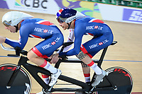 Picture by Simon Wilkinson/SWpix.com 23/03/2018 - Cycling 2018 UCI  Para-Cycling Track Cycling World Championships. Rio de Janeiro, Brazil - Barra Olympic Park Velodrome - Day 2 - Stephen BATE Adam Duggleby