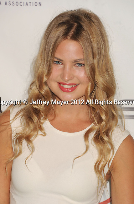 BURBANK, CA - SEPTEMBER 29: Jennifer Akerman arrives at the 2012 Environmental Media Awards at Warner Bros. Studios on September 29, 2012 in Burbank, California.