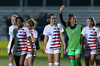 LAKEWOOD RANCH, Fla. (Dec. 9, 2018)—The U.S. Under-20 Women's National Team vs China in the 2018 Women's Nike International Friendlies. Premier Sports Campus in Lakewood Ranch, Fla.