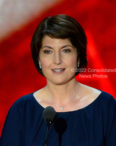 United States Representative Cathy McMorris Rodgers (Republican of Washington) introduces the evening's program at the 2012 Republican National Convention in Tampa Bay, Florida on Thursday, August 30, 2012.  .Credit: Ron Sachs / CNP.(RESTRICTION: NO New York or New Jersey Newspapers or newspapers within a 75 mile radius of New York City)