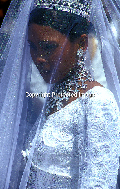 EVROYWE06003.Events. Royal Wedding. The Lesotho King marries his queen during a 3 day ceremony in  February-2000. In Lesotho..©Per-Anders Pettersson/iAfrika Photos