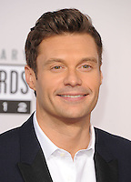 LOS ANGELES, CA - NOVEMBER 18: Ryan Seacrest at The 40th Annual American Music Awards at The Nokia Theater LA Live, in Los Angeles, California. November 18, 2012. Photo by: mpi99/MediaPunch Inc. NortePhoto