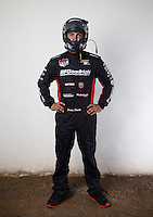 Mar. 21, 2014; Chandler, AZ, USA; LOORRS pro lite driver Justin Smith poses for a portrait prior to round one at Wild Horse Motorsports Park. Mandatory Credit: Mark J. Rebilas-USA TODAY Sports