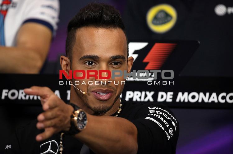 23. bis 25.05.2015, Circuit de Monaco, Monte Carlo, MCO, Gro&szlig;er Preis von Monaco, Monte Carlo, im Bild   Lewis Hamilton (GBR), Mercedes GP<br />  Foto &copy; nph / Mathis