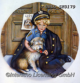 CHILDREN, KINDER, NIÑOS, paintings+++++,USLGSK0179,#K#, EVERYDAY ,Sandra Kock, victorian