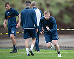 St Johnstone Training&hellip;07.09.17<br />Brian Easton pictured during training at McDiarmid Park ahead of the home game against Hibs<br />Picture by Graeme Hart.<br />Copyright Perthshire Picture Agency<br />Tel: 01738 623350  Mobile: 07990 594431