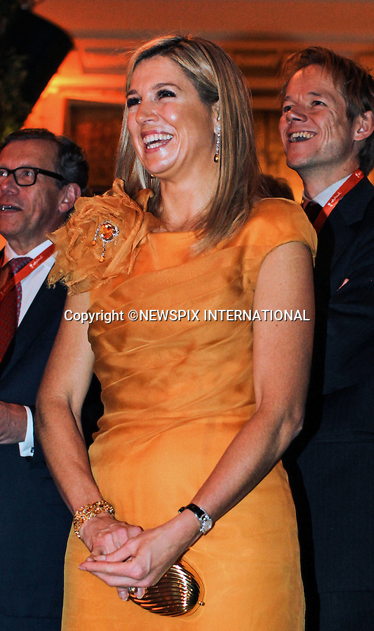 """CROWN PRINCESS MAXIMA.attends an event at Jockey Club of Sao Paulo..Crown Prince Williem-Alexander and his wife Princess Maxima of the Neatherlands are on a tour of Brazil, Sao Paulo-21/11/2012.Mandatory Credit Photo: ©NEWSPIX INTERNATIONAL..**ALL FEES PAYABLE TO: """"NEWSPIX INTERNATIONAL""""**..IMMEDIATE CONFIRMATION OF USAGE REQUIRED:.Newspix International, 31 Chinnery Hill, Bishop's Stortford, ENGLAND CM23 3PS.Tel:+441279 324672  ; Fax: +441279656877.Mobile:  07775681153.e-mail: info@newspixinternational.co.uk"""