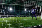 08.03.2019, Weserstadion, Bremen, GER, 1.FBL, Werder Bremen vs FC Schalke 04<br /> <br /> DFL REGULATIONS PROHIBIT ANY USE OF PHOTOGRAPHS AS IMAGE SEQUENCES AND/OR QUASI-VIDEO.<br /> <br /> im Bild / picture shows<br /> Alexander N&uuml;bel / Nuebel (FC Schalke 04 #35) wirft den Ball nach dem 1:1 zur&uuml;ck aufs Feld, aufgenommen mit remote / Hintertorkamera, <br /> <br /> Foto &copy; nordphoto / Ewert