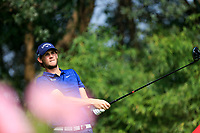 Thomas Pieters (BEL) on the 2nd tee during the 2nd round at the WGC HSBC Champions 2018, Sheshan Golf CLub, Shanghai, China. 26/10/2018.<br /> Picture Fran Caffrey / Golffile.ie<br /> <br /> All photo usage must carry mandatory copyright credit (&copy; Golffile | Fran Caffrey)