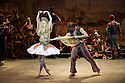 London, UK. 16.10.2013. English National Ballet present the world premiere of LE CORSAIRE. which runs from 17th October 2013 until 15th February, on tour. The opening night cast has Alina Cojacaru dancing the lead character of Medora, with Vadim Muntagirov in the role of Conrad. Photograph © Jane Hobson.