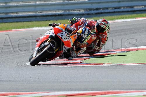 14.09.2014.  Misano, San Marino. MotoGP. San Marino Grand Prix. Dani Pedrosa (Repsol Honda)during the race.