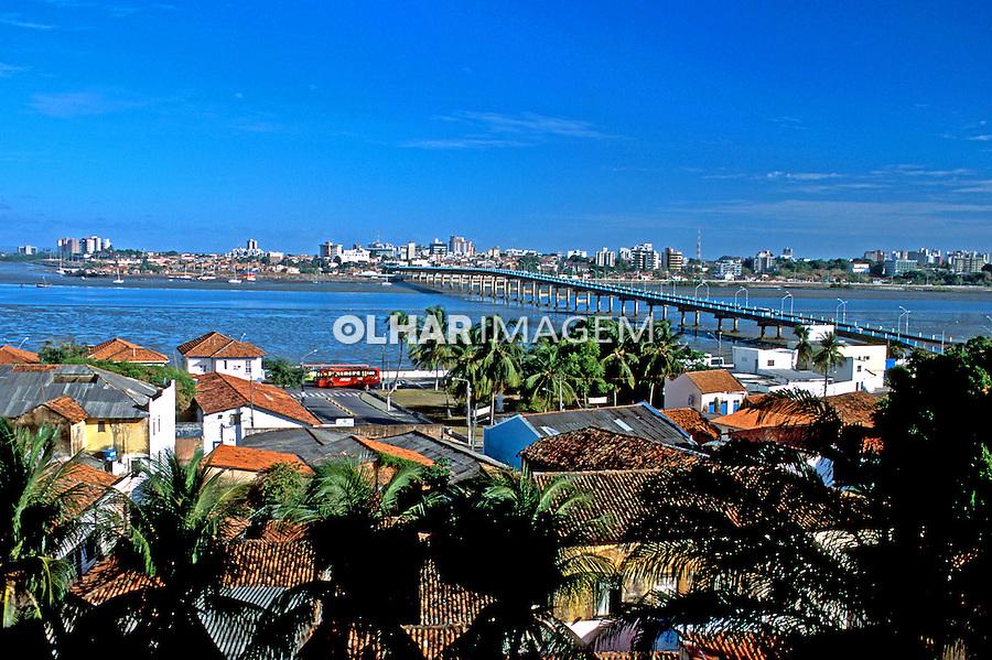 Centro Histórico de São Luís, Maranhão. 2001. Foto de Rogério Reis.
