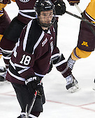 Max Novak (Union - 18) - The Union College Dutchmen defeated the University of Minnesota Golden Gophers 7-4 to win the 2014 NCAA D1 men's national championship on Saturday, April 12, 2014, at the Wells Fargo Center in Philadelphia, Pennsylvania.