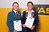 Girls Triathlon/Duathlon/Multisport finalists Sophie Corbidge & Amelia Watkinson. ASB College Sport Auckland Secondary School Young Sports Person of the Year Awards held at Eden Park on Thursday 12th of September 2009.