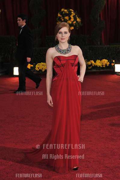 Amy Adams at the 81st Academy Awards at the Kodak Theatre, Hollywood..February 22, 2009  Los Angeles, CA.Picture: Paul Smith / Featureflash