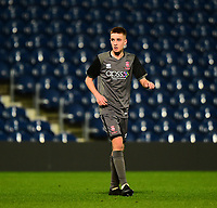 Lincoln City U18's Tobias Liversidge<br /> <br /> Photographer Andrew Vaughan/CameraSport<br /> <br /> FA Youth Cup Round Three - West Bromwich Albion U18 v Lincoln City U18 - Tuesday 11th December 2018 - The Hawthorns - West Bromwich<br />  <br /> World Copyright &copy; 2018 CameraSport. All rights reserved. 43 Linden Ave. Countesthorpe. Leicester. England. LE8 5PG - Tel: +44 (0) 116 277 4147 - admin@camerasport.com - www.camerasport.com