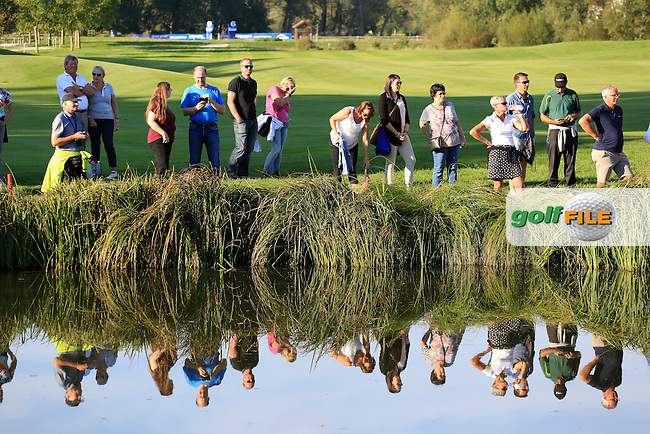 spectators in action during the final round of the Porsche European Open, Golf Resort Bad Griesbach, Bad Griesbach, Germany. 25/09/2016<br /> Picture: Golffile | Phil Inglis<br /> <br /> <br /> All photo usage must carry mandatory copyright credit (&copy; Golffile | Phil Inglis)