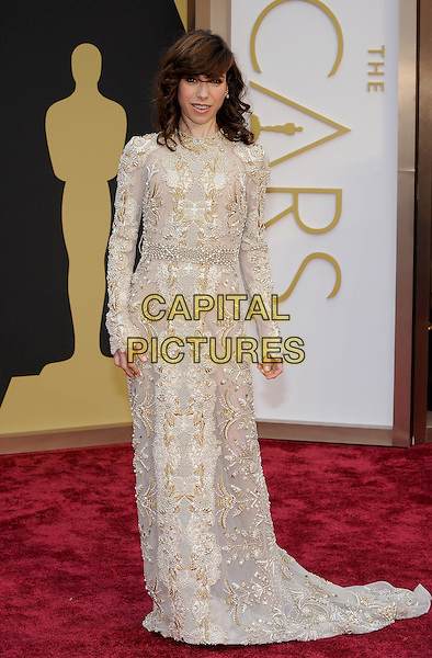 HOLLYWOOD, CA - MARCH 2: Sally Hawkins arriving to the 2014 Oscars at the Hollywood and Highland Center in Hollywood, California. March 2, 2014. <br /> CAP/MPI/COR99<br /> &copy;COR99/MediaPunch/Capital Pictures
