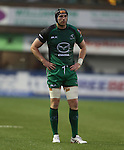 Connacht lock Andrew Browne.<br /> RaboDirect Pro 12<br /> Cardiff Blues v Connacht<br /> Cardiff Arms Park<br /> 13.09.13<br /> <br /> ©Steve Pope-SPORTINGWALES