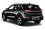 Car pictures of rear three quarter view of 2019 KIA e-Niro More 5 Door SUV Angular Rear