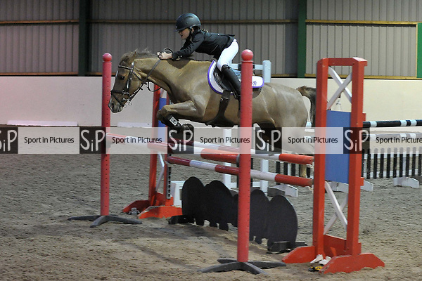 Class 7. Springboard 128-138. British showjumping juniors. Brook Farm training centre. Essex. 23/09/2017. MANDATORY Credit Garry Bowden/Sportinpictures - NO UNAUTHORISED USE - 07837 394578
