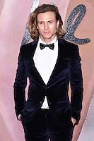Dougie Poynter at the Fashion Awards 2016 at the Royal Albert Hall, London. December 5, 2016<br /> Picture: Steve Vas/Featureflash/SilverHub 0208 004 5359/ 07711 972644 Editors@silverhubmedia.com
