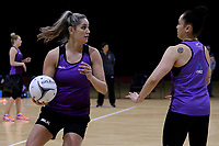 01.09.2017  Te Paea Selby-Rickit during the Silver Ferns training session ahead of the Quad Series at the ILT Stadium Southland in Invercargill. Mandatory Photo Credit ©Copyright photo: Dianne Manson/Michael Bradley Photography