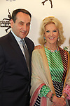"Mike ""Coach K"" Krzyzewski with honoree Elaine Wynn at Figure Skating in Harlem's Champions in Life (in its 21st year) Benefit Gala recognizing the medal-winning 2018 US Olympic Figure Skating Team on May 1, 2018 at Pier Sixty at Chelsea Piers, New York City, New York. (Photo by Sue Coflin/Max Photo)"