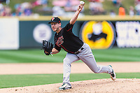 Nashville Sounds relief pitcher Ryan Verdugo (11) during a baseball game, Sunday May 03, 2015 in Round Rock, Tex. Express sweep four game series by defeating Sounds 5-4. (Mo Khursheed/TFV Media via AP images)