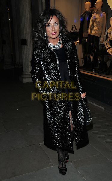 Nancy Dell'Olio at the Jean-David Malat: BritARTnia private view, Opera Gallery, New Bond Street, London, England, UK, on Tuesday 22 November 2016. <br /> CAP/CAN<br /> &copy;CAN/Capital Pictures