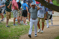 Andrew Landry (USA) makes his way to the tee on 2 during day 2 of the Valero Texas Open, at the TPC San Antonio Oaks Course, San Antonio, Texas, USA. 4/5/2019.<br /> Picture: Golffile | Ken Murray<br /> <br /> <br /> All photo usage must carry mandatory copyright credit (© Golffile | Ken Murray)