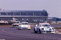 #90 Porsche 911 of  Mike Schaefer, Doug Zitza, and Jack Refenning (22nd place) 12 Hours or Sebring, Sebring International Raceway, Sebring, FL, March 19, 1983.  (Photo by Brian Cleary/bcpix.com)